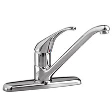 Reliant Single Handle Centerset Kitchen Faucet with Less Spray