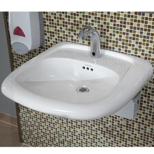"""Murro 10.75"""" x 22.38"""" Single Sink with Overflow"""
