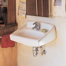 "Lucerne 14"" x 22.5"" Bathroom Sink with Overflow"