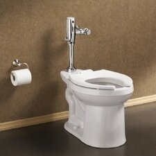 Right Width Right Height Flush Valve Universal 1.28 GPF / 1.6 GPF Elongated Toilet Bowl Only