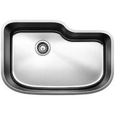"""One 30"""" x 20"""" Single Bowl Undermount Kitchen Sink"""