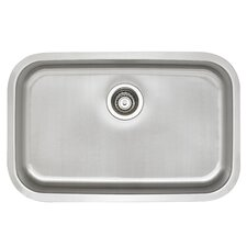 "Stellar 28"" x 18"" ADA Single Bowl Kitchen Sink"