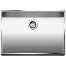"""Attika 25"""" x 22"""" Single Drop-in Kitchen Sink"""