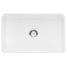"Cerana 30"" x 19"" Single-Basin Kitchen Sink"