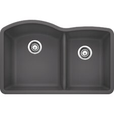 "Diamond 32"" x 20.84"" Bowl Undermount Kitchen Sink"