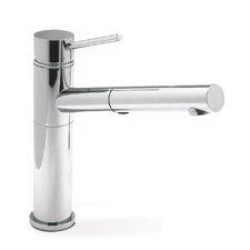 Alta Single Handle Deck Mounted Kitchen Faucet with Dual Pull Out Spray