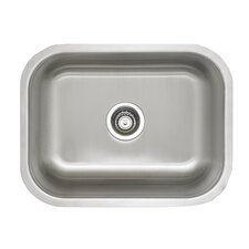 "Stellar 23"" x 17.75"" Laundry Undermount Kitchen Sink"