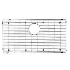 "Precis 15"" x 29"" Stainless Steel Sink Grid"