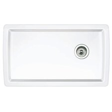 "Diamond 33.5"" x 18.5"" 1.0 Undermount Kitchen Sink"