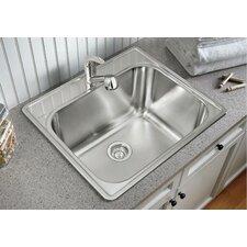 """25"""" x 22"""" Essential Kitchen Sink"""