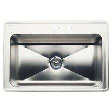 "Magnum 33"" x 22"" Single-Basin Drop Residential Kitchen Sink"