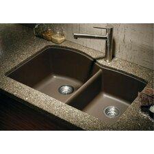"Diamond 32"" x 19"" Bowl Undermount Kitchen Sink"