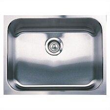 """Spex 23"""" x 18"""" Single Bowl Undermount Kitchen Sink"""