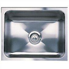 """Magnum 21"""" x 18"""" Single Bowl Undermount Kitchen Sink"""