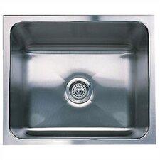 """Magnum 20"""" x 16"""" Single Bowl Undermount Kitchen Sink"""