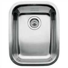 """Supreme 15.56"""" x 17.75"""" Bowl Undermount Kitchen Sink"""