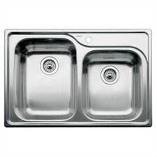 """Supreme 33"""" x 22"""" Bowl Kitchen Sink"""