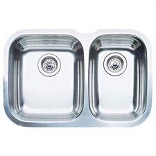 """Niagara 27.5"""" x 18.13"""" Bowl Undermount Kitchen Sink"""