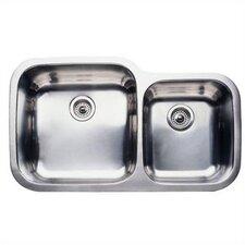 """Supreme 35.44"""" x 20.88"""" Super Bowl Undermount Kitchen Sink"""