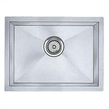"Precision 20"" x 15"" Medium Bowl Undermount Kitchen Sink with Horizontal Orientation"