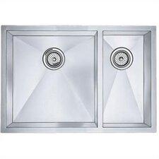 """Precision 29"""" x 20"""" Bowl Undermount Kitchen Sink"""
