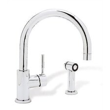 Meridian Single Handle Deck Mounted Kitchen Faucet with Side Spray