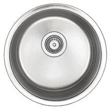 """18"""" x 18"""" x 8"""" Round Bar Sink"""