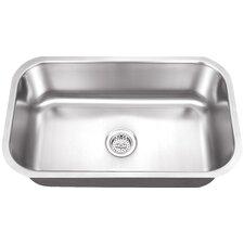 """30"""" x 19"""" Single Bowl Kitchen Sink"""