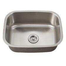 """21.44"""" x 15.75"""" Single Bowl Kitchen Sink"""