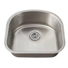"""21.25"""" x 18.88"""" Single Bowl Kitchen Sink"""