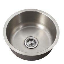 "16"" x 16"" Single Bowl Bar Sink"