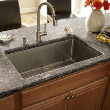 """32"""" x 19"""" Single Bowl Kitchen Sink"""