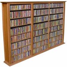 VHZ Entertainment Regular Triple Multimedia Storage Rack