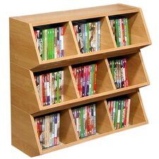 Stackable Mud 3 Compartment Cubby