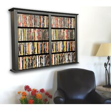 VHZ Entertainment Double Wall Mounted Storage Rack