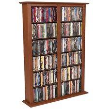 VHZ Entertainment Regular Double Multimedia Storage Rack
