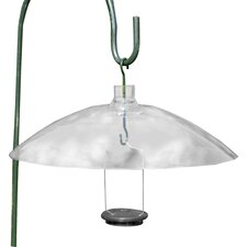Clear Hanging Squirrel Baffle