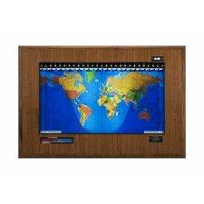 Geochron Boardroom Model World Wall Clock