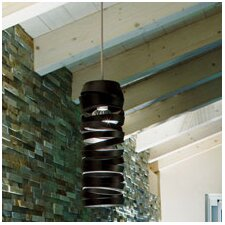 Amourette Suspension 1 Light Bowl Pendant