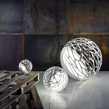 "Kelly Laser Cut Sphere 15.74"" H Table Lamp"