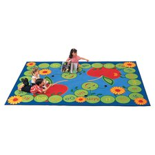 Literacy ABC Caterpillar Kids Area Rug