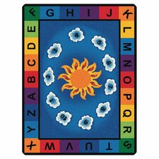 Literacy Sunny Day Learn and Play Kids Area Rug