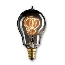 25W Smoke Incandescent Light Bulb (Set of 3)