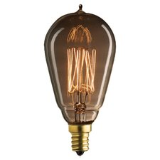 Nostalgic Edison 25W Incandescent Light Bulb (Set of 3)