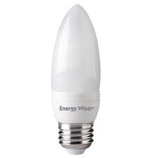 7W Compact Fluorescent Light Bulb (Set of 3)