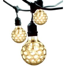 15-Light 48 ft. Globe String Lights