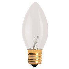 7W 120-Volt C9 Replacement Light Bulb (Pack of 25) (Set of 2)