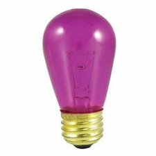 11W Transparent Fuchsia String Replacement Light Bulb (Set of 25)