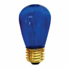 11W Transparent Blue String Replacement Light Bulb (Set of 25)
