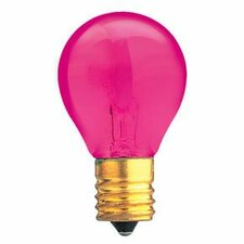 Specialty 10W Transparent Pink String Replacement Light Bulb (Set of 25)